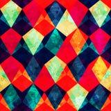 Uitstekend mozaïek naadloos patroon Stock Afbeelding