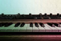Uitstekend muzikaal toetsenbord royalty-vrije illustratie