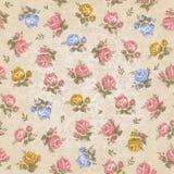 Uitstekend naadloos bloemenpatroon vector illustratie