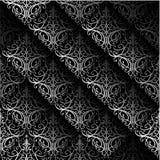 Uitstekend naadloos patroon Royalty-vrije Stock Afbeeldingen