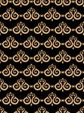 Uitstekend naadloos patroon Royalty-vrije Stock Afbeelding