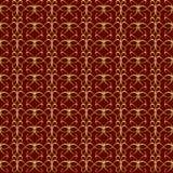 Uitstekend naadloos patroon Stock Afbeeldingen