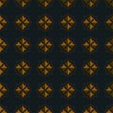 Uitstekend naadloos patroon Stock Foto's