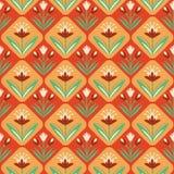 Uitstekend naadloos Patroon met bloemenornament Royalty-vrije Illustratie