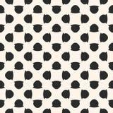 Uitstekend naadloos patroon met eenvoudige geometrische cijfers Royalty-vrije Stock Afbeeldingen
