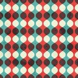 Uitstekend naadloos patroon met grungeeffect stock illustratie