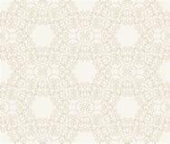 Uitstekend naadloos zwart-wit geometrisch patroon Stock Foto