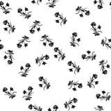 Uitstekend nam naadloos overzichts vector, groot ontwerp voor om het even welke doeleinden toe Bloemen uitstekend naadloos patroo royalty-vrije illustratie