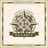 Uitstekend Oceanic Etiket stock illustratie