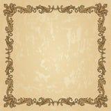 Uitstekend ornamentkader Royalty-vrije Stock Afbeelding