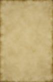 Uitstekend oud document met zwarte ruimte voor textuur en achtergrond Royalty-vrije Stock Afbeelding