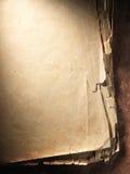 Uitstekend oud oud document Originele achtergrond of textuur Stock Afbeeldingen