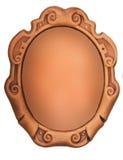 Uitstekend ovaal frame Royalty-vrije Stock Afbeeldingen