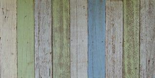 uitstekend pastelkleurhout Royalty-vrije Stock Foto's