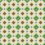 Uitstekend patroon Royalty-vrije Stock Afbeelding