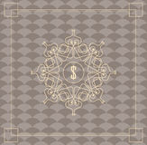 Uitstekend patroon moderne modieuze textuur Royalty-vrije Stock Foto's