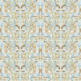 Uitstekend patroon in pastelkleurtonen Vector Illustratie
