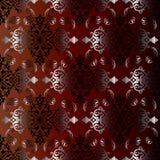 Uitstekend Perzisch naadloos patroon vector illustratie