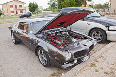 Uitstekend Pontiac Firebird trans Am Ram Air Stock Foto
