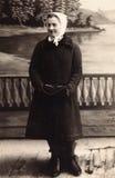 Uitstekend portret van een meisje in Hotin Stock Afbeeldingen
