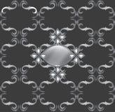 Uitstekend Retro naadloos patroon Stock Afbeeldingen