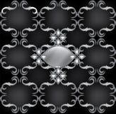 Uitstekend Retro naadloos patroon Royalty-vrije Stock Foto's