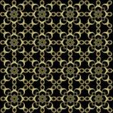 Uitstekend Retro naadloos patroon Royalty-vrije Stock Afbeelding