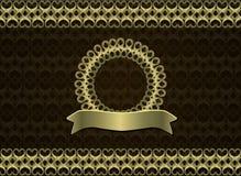 Uitstekend retro patroon Royalty-vrije Stock Afbeeldingen