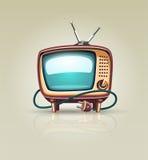 Uitstekend retro TV-reekspictogram vector illustratie