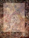 Uitstekend-rode Marmeren Textuur Als achtergrond Royalty-vrije Stock Foto's