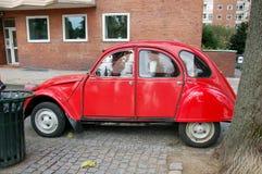 Uitstekend rood Citroën  Royalty-vrije Stock Afbeelding