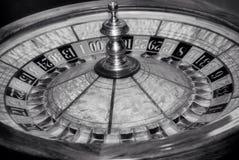 Uitstekend roulettewiel Stock Foto's
