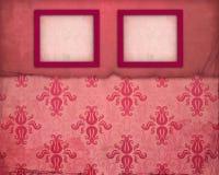 Uitstekend roze fotoframe Royalty-vrije Stock Afbeelding