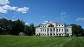 Uitstekend Russisch landgoed stock footage