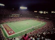 Uitstekend schot van Arrowhead Stadium, de Stad van Kansas, MO Royalty-vrije Stock Afbeeldingen