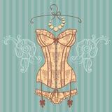 Uitstekend sexy guipurekorset Royalty-vrije Stock Foto