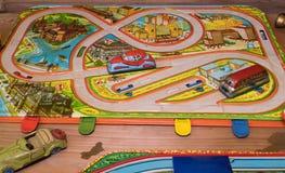 Uitstekend speelgoed Speelgoed voor jongens Retro speelgoed royalty-vrije stock foto's