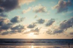 Uitstekend strand Royalty-vrije Stock Foto's