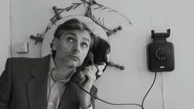 Uitstekend telefoongesprek stock videobeelden