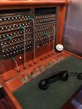 Uitstekend telefoonschakelbord Stock Foto