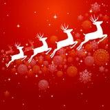 Uitstekend van Achtergrond Kerstmiselementen ontwerpeps10 dossier. Stock Foto