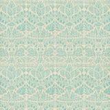 Uitstekend van het Plakboek van het Damast patroon als achtergrond Royalty-vrije Stock Afbeeldingen