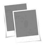 Uitstekend vectorfotokader Stock Foto