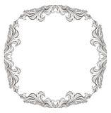 Uitstekend vectorkader met plaats voor tekst of beeld Vector Illustratie
