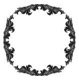 Uitstekend vectorkader met plaats voor tekst of beeld Royalty-vrije Illustratie