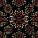 Uitstekend vectorpatroon Decoratieve retro banner royalty-vrije illustratie