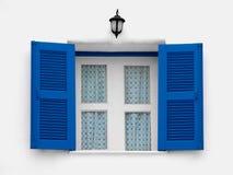 Uitstekend venster Royalty-vrije Stock Foto's
