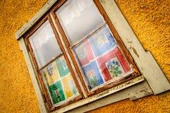 Uitstekend venster Royalty-vrije Stock Foto