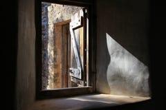 Uitstekend venster Stock Afbeelding