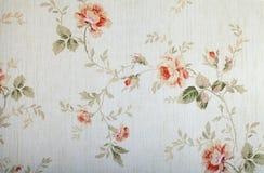 Uitstekend victorian behang stock foto's
